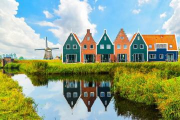 Ghé thăm Marken - Ốc đảo yên bình gần Amsterdam