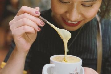 Cà phê trứng - thức uống ngon của người Hà Nội