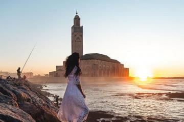 Mê mẩn trước vẻ đẹp nguy nga tráng lệ của nhà thờ Hồi giáo Hassan II