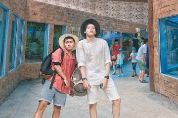 Vui thả ga ở công viên Thiên Đường Bảo Sơn - Hà Nội