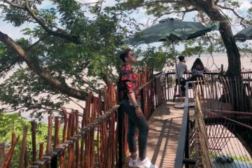 Trải nghiệm quán cà phê trên cây ở Cần Thơ xịn xò không thua Thái Lan