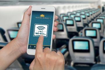 Danh sách các hãng hàng không phục vụ wifi trên máy bay, Vietnam Airlines vừa góp mặt!