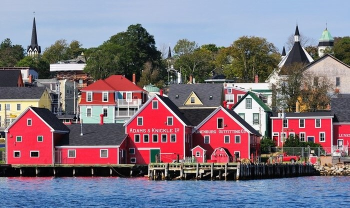 The beauty of the old town of Lunenburg Canada