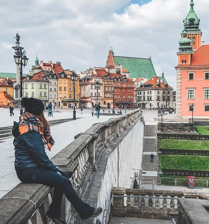 What's beautiful about visiting the Polish city of Gdansk?