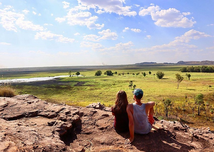 Kakadu Australia National Park - which takes us from surprise to surprise