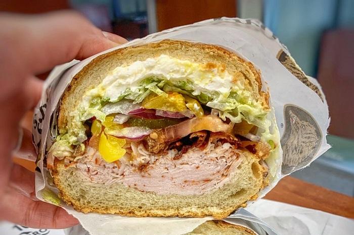 Sandwich -  món ăn nổi tiếng ở San Francisco