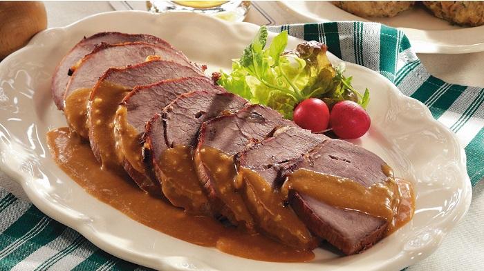 Món Sauerbraten - Đặc sản ở Đức nổi tiếng trứ danh