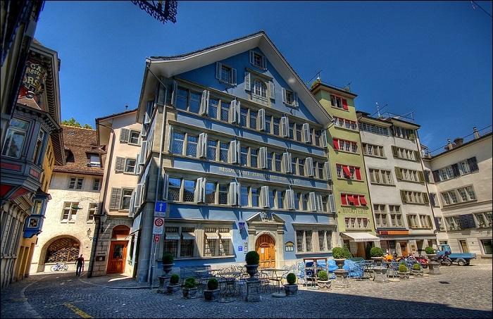 Zunfthaus Zur Waag - Khám phá ẩm thực Zurich Thụy Sĩ