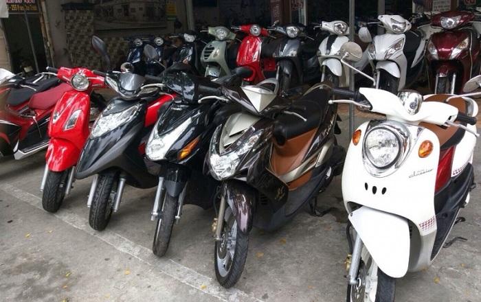 Cửa hàng cho thuê xe máy Anh Tùng - Địa chỉ cho thuê xe máy ở Thái Bình