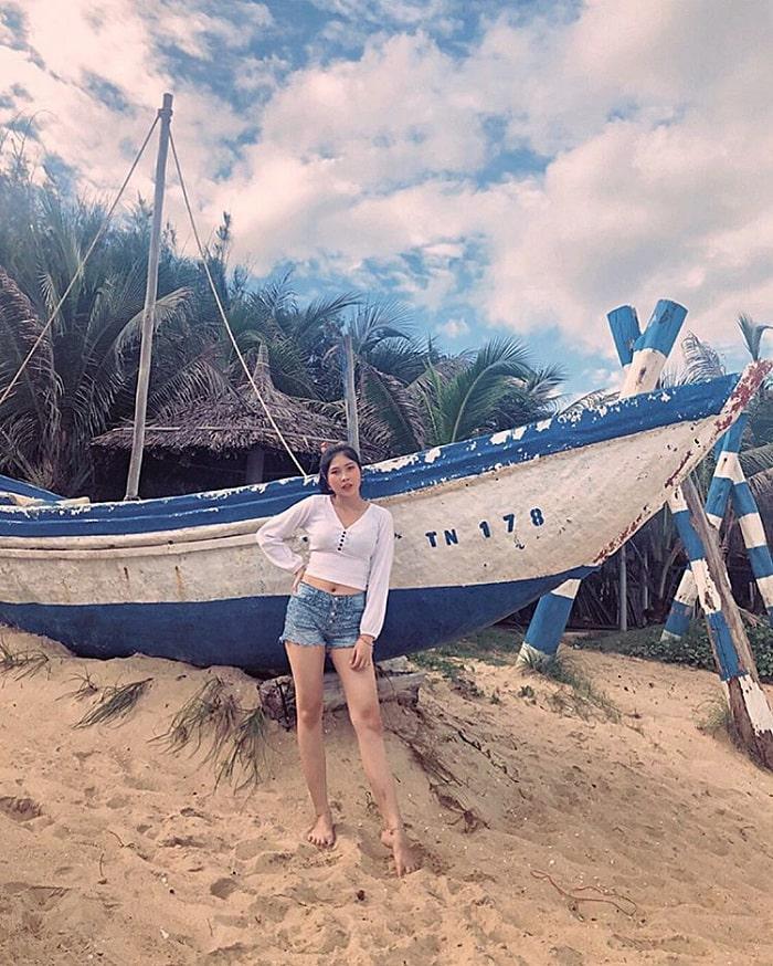 thuyền - nét đẹp của biển Phước Hải Vũng Tàu