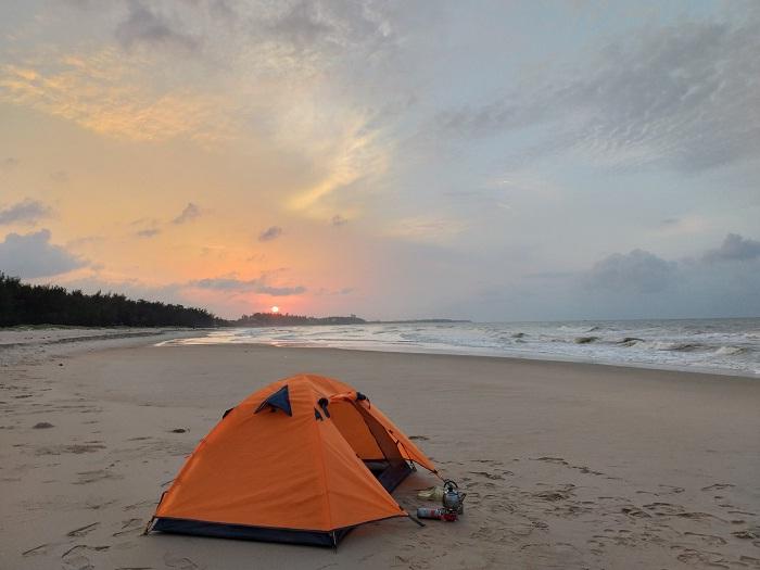 camping - interesting activities at Loc An Vung Tau beach