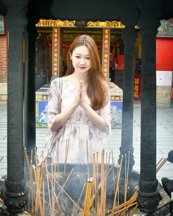 khấn thần Thiên Cung - hoạt động quan trọng tại đền Hà Hải Đài Bắc
