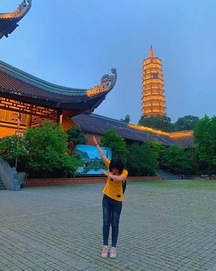 Chùa Bãi Đính - điểm vui chơi về đêm tại Ninh Bình không thể quên ghé