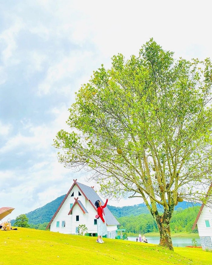 virtual life - activity not to be missed in the European village of Dalat