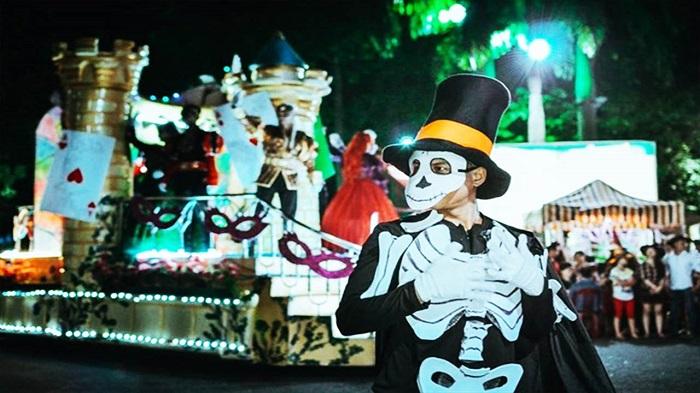 Công viên Thống Nhất - Địa điểm đi chơi Halloween tại Hà Nội
