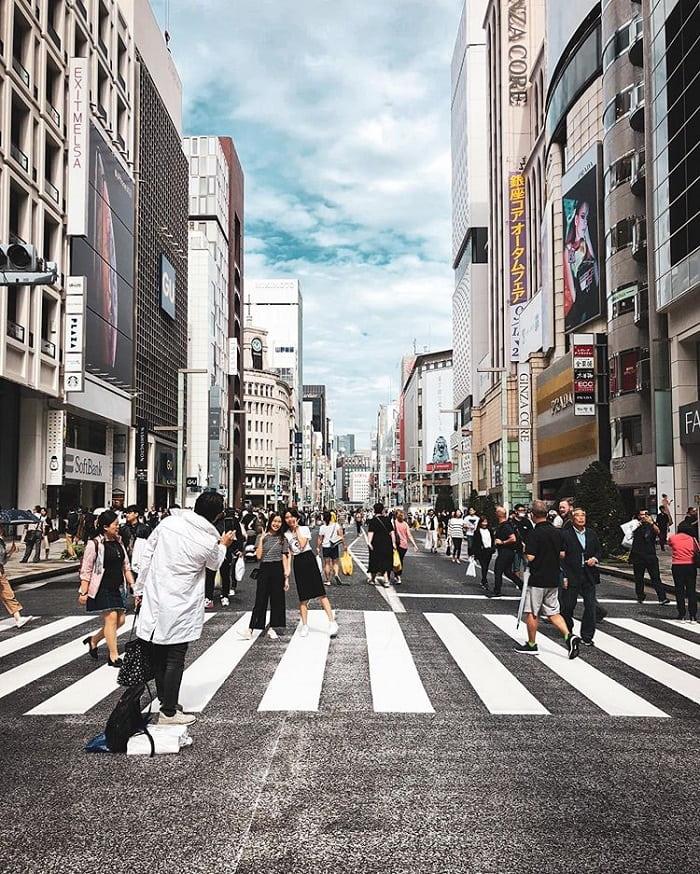 điểm tham quan ở Tokyo - mua sắm ở Ginza