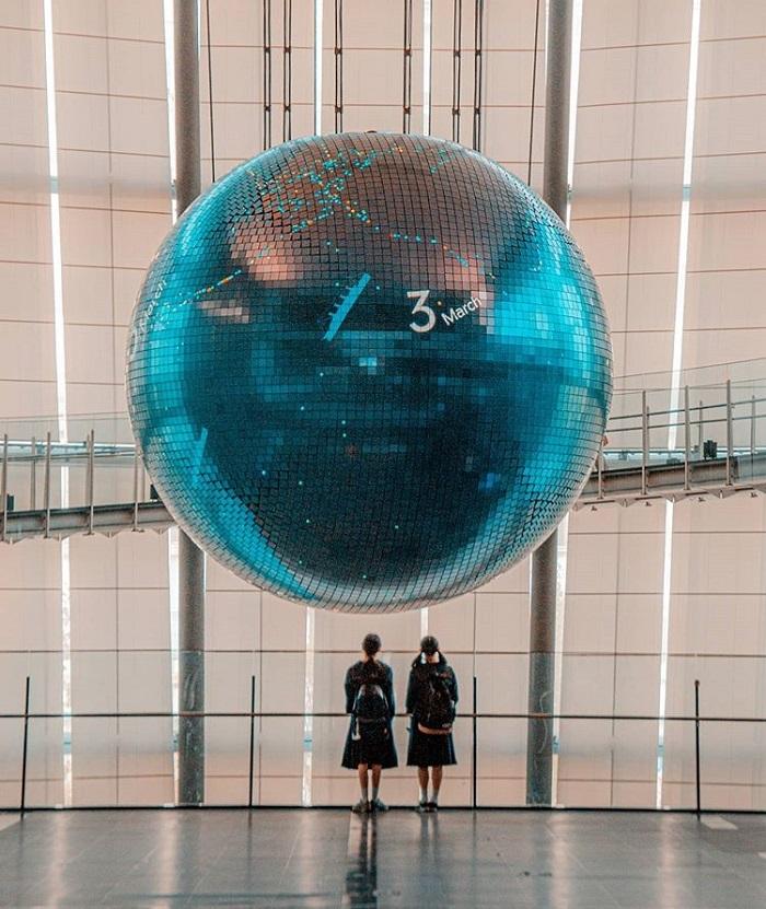 điểm tham quan ở Tokyo - bảo tàng Miraikan