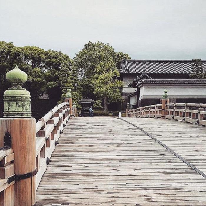 điểm tham quan ở Tokyo - cung điện Hoàng gia