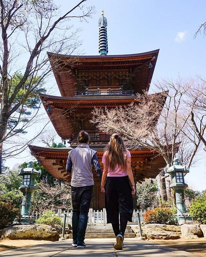 điểm tham quan ở Tokyo - tham quan đền Gotokuji