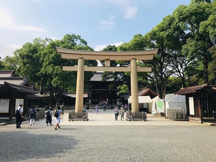 điểm tham quan ở Tokyo - thưởng ngoạn đền Meiji