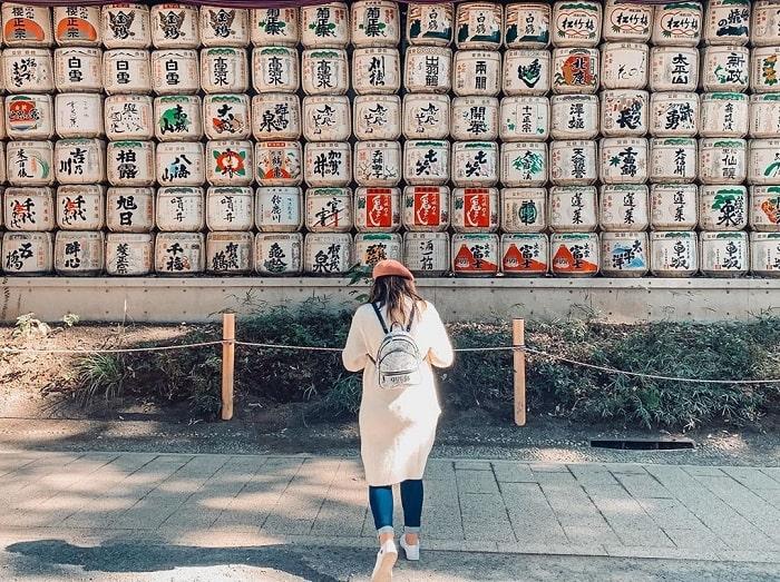 điểm tham quan ở Tokyo - đền Meiji ấn tượng