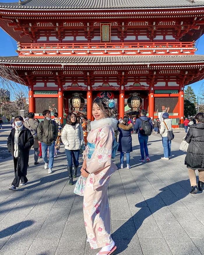 điểm tham quan ở Tokyo - đền Senso-ji