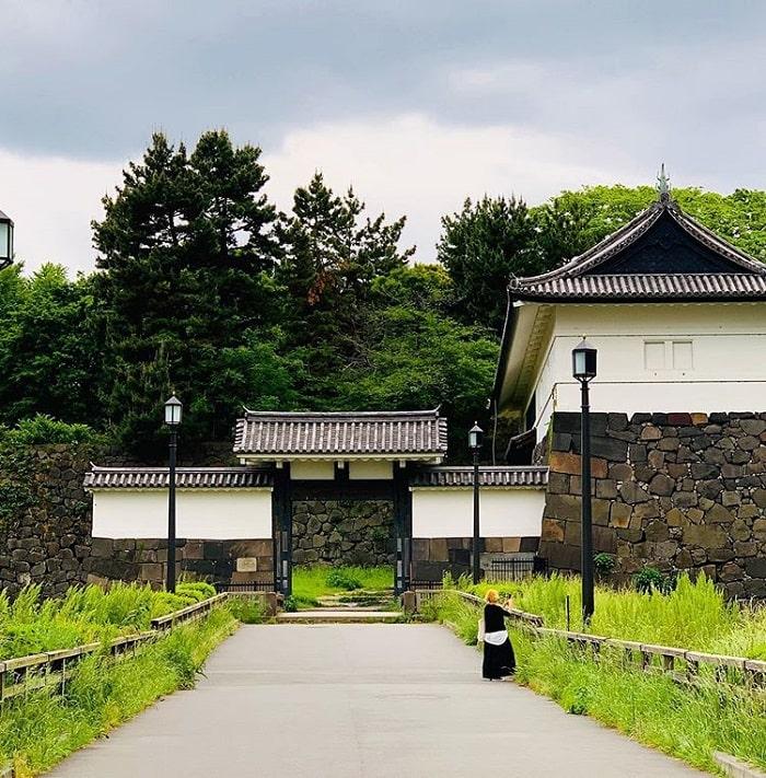 điểm tham quan ở Tokyo - khám phá lâu đài Edo