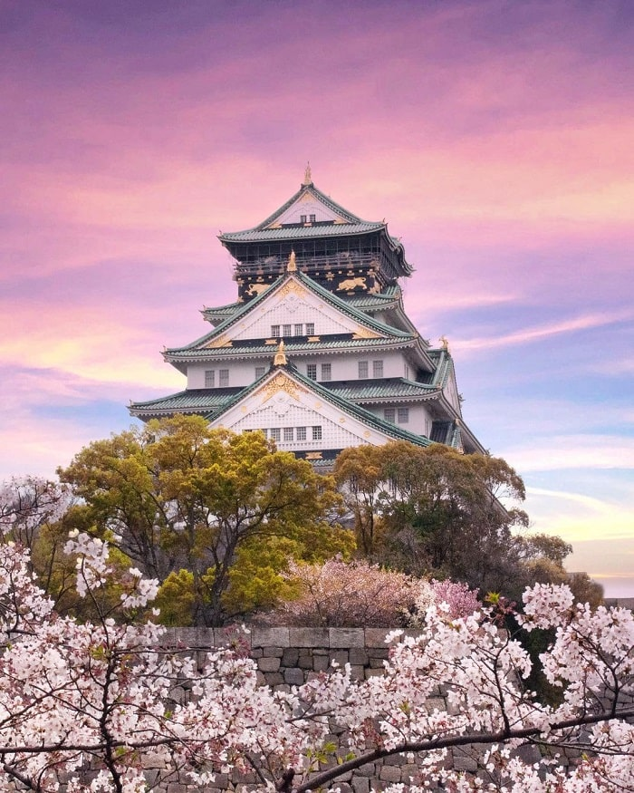 điểm tham quan ở Tokyo - lâu đài Edo