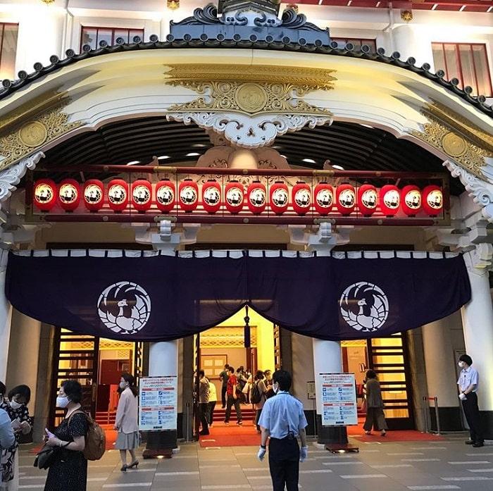 điểm tham quan ở Tokyo - nhà hát Kabuki-za