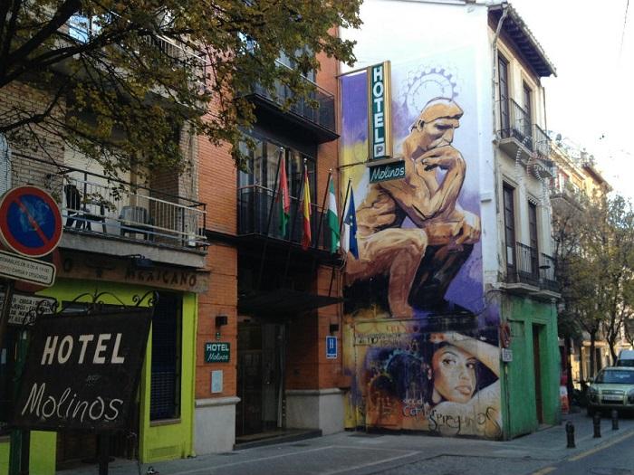 Tranh bích họa đường phố ở Realejo -  những khu phố thú vị ở Granada