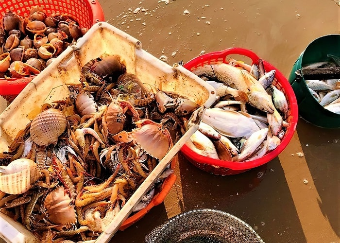 seafood - the dish should try at Loc An Vung Tau beach
