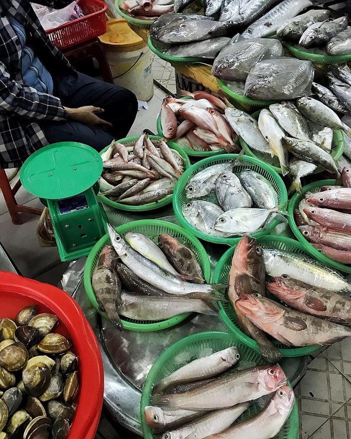 hải sản tại chợ Hàn - địa chỉ mua hải sản ở Đà Nẵng nổi tiếng