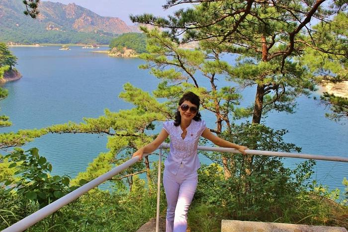 Lake sijung - a peaceful Korean tourist destination