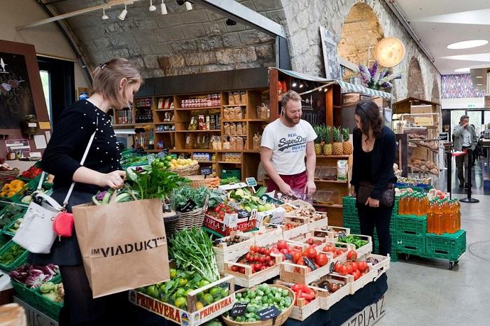 Khu chợ Viadukt - Khám phá ẩm thực Zurich Thụy Sĩ