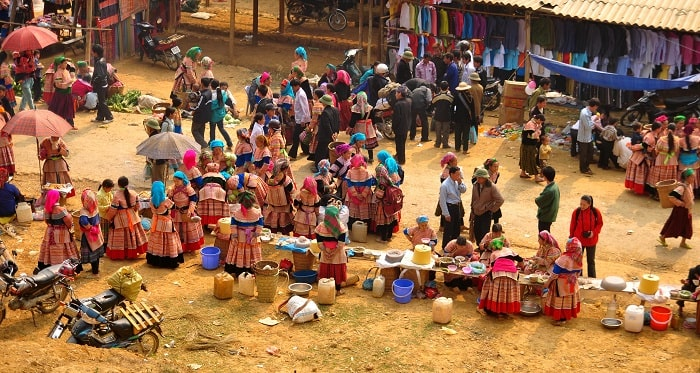 Attractive and interesting experiences when going to Bac Ha fair