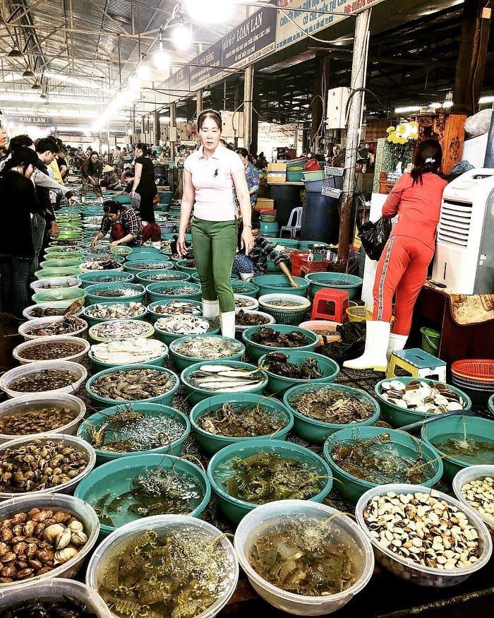 chợ Thanh Khê - địa chỉ mua hải sản ở Đà Nẵng uy tín