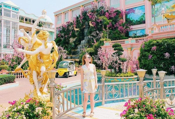 The lavish scene at the Thai billionaire's castle