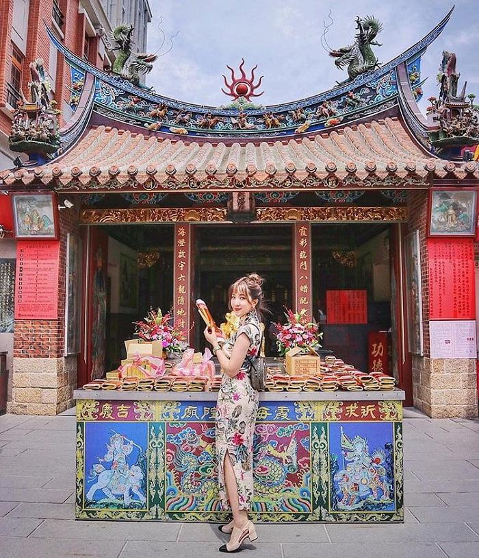 kiến trúc của đền Hà Hải Đài Bắc
