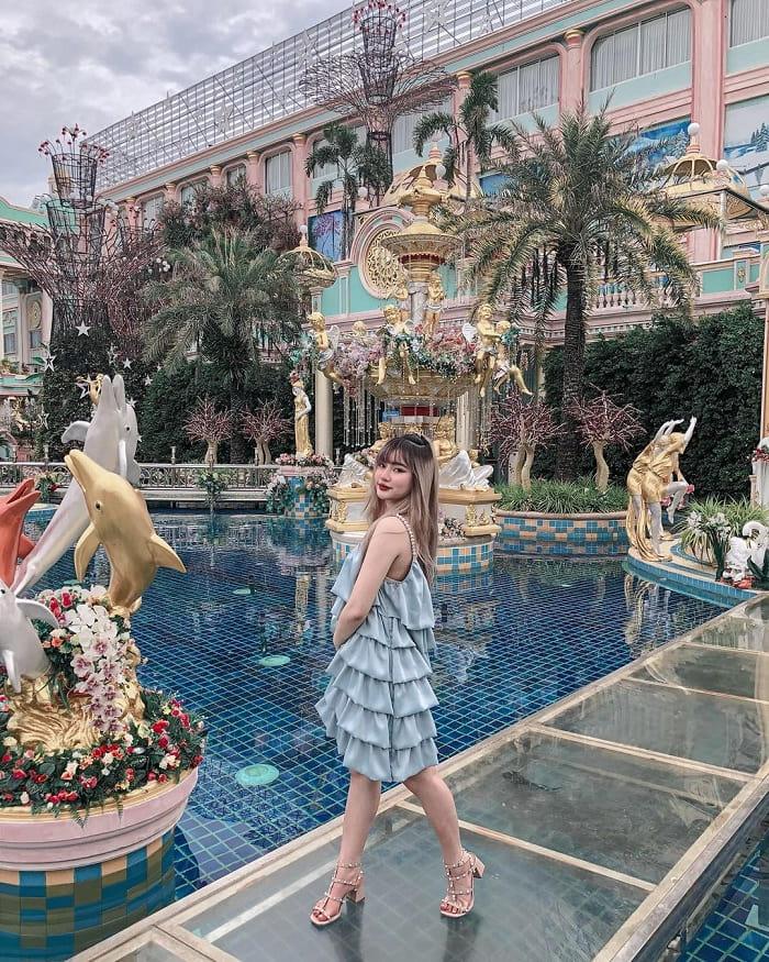 Exquisite design of Thai billionaire castle