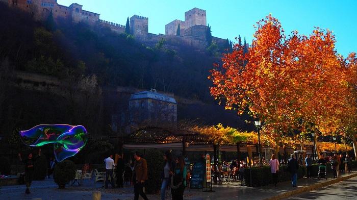 Granada City - The Moorish architecture in Granada