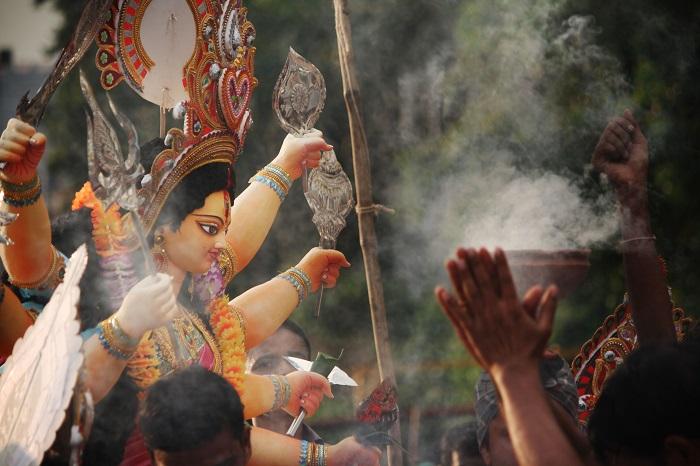 Lễ hội lớn ở Ấn Độ- Lễ hội Durga