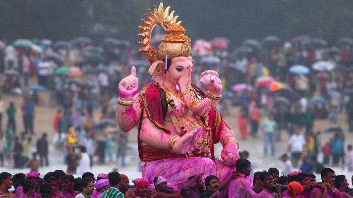 Lễ hội lớn ở Ấn Độ- Lễ hội Ganesha