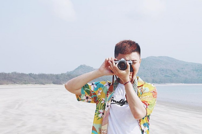 What to wear when going to Con Dao - beachwear for men