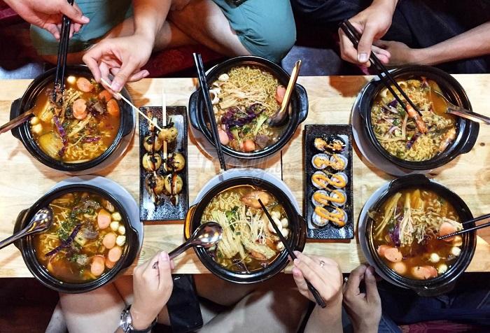 Mì cay Chansol - Địa chỉ quán ăn vặt ngon ở Thái Bình