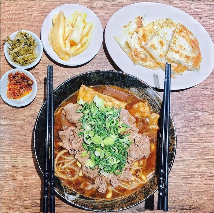 mì Han Kee Tiger - món ăn ngon tại phố ẩm thực Yongkang