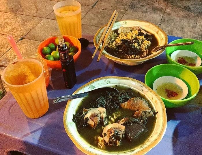 Những món ăn sáng ngon ở Hạ Long- tiết hầm