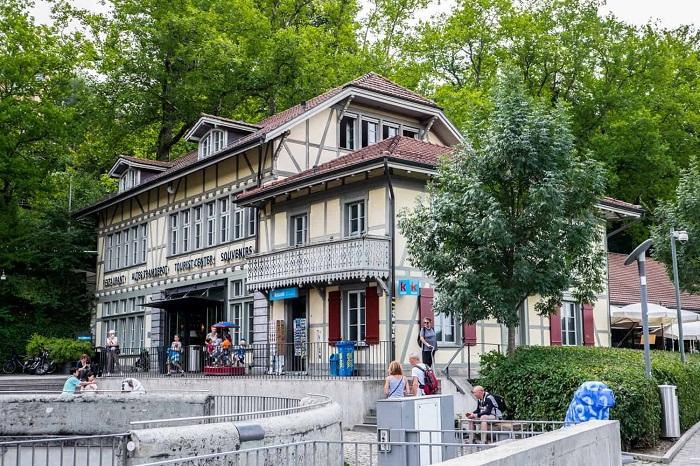 Craft beer restaurant Bern's Altes Tramdepot - The travel experience of Bern Switzerland