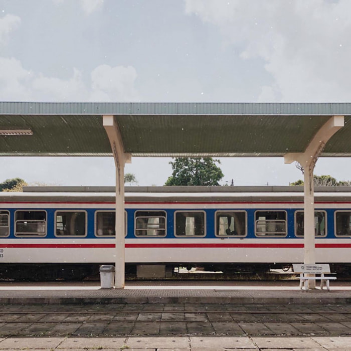 Check in Hue train station - A place to save many famous characters' footprint
