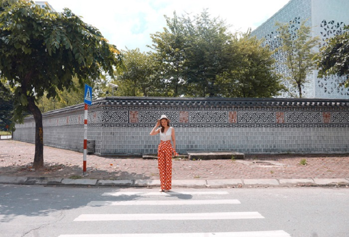 những góc phố Hàn Quốc ở Hà Nội - Đại sứ quán Hàn