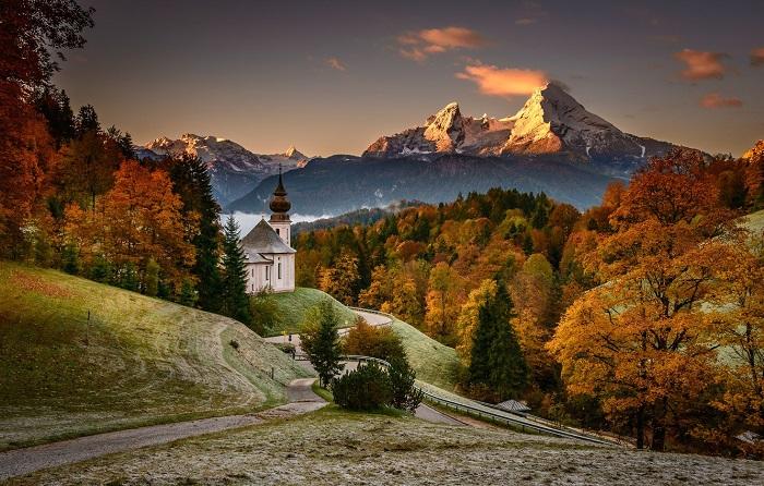 những nơi mùa thu đẹp nhất thế giới-Alps_Bavarian